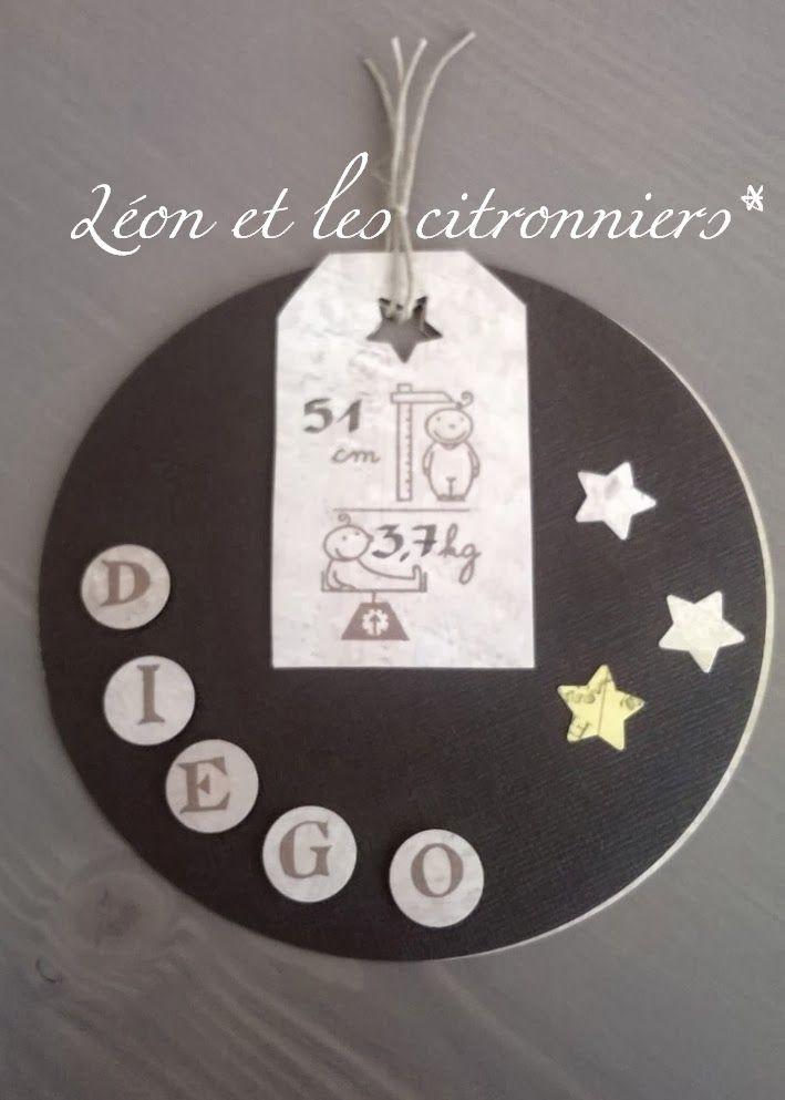 Léon et les citronniers*: Des fairt-parts de naissance créés sur demande