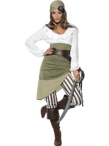 Déguisement pirate femme - XL