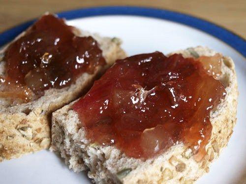Rhubarb and ginger jam recipe