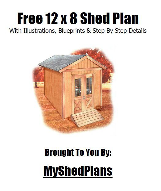 FREE 12x8 Shed Plan (PDF) With Illustrations, Blueprints & Step By Step Details: http://1drv.ms/1pjxyqy {MyShedPlans}