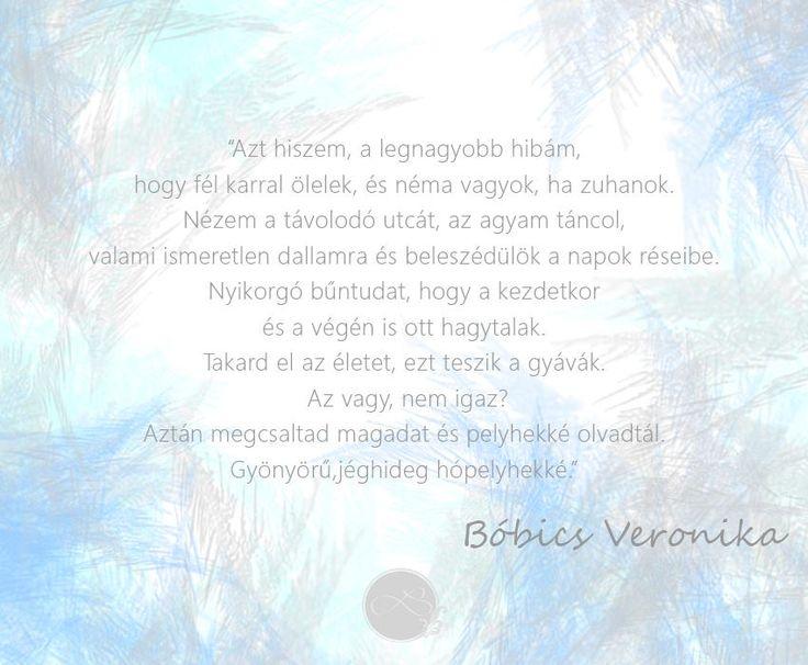 Bóbics Veronika - Madárlelkű lány #lendületmagazin #blogger #cikk #idézet