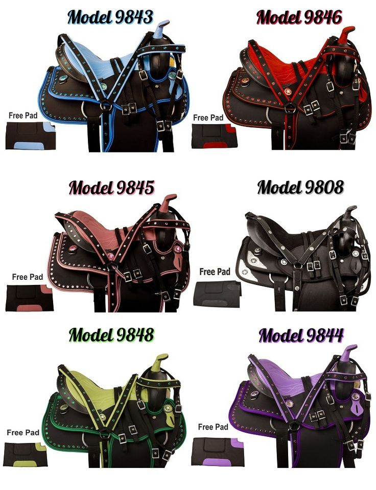Which color is your favorite? Lots of synthetic saddles now in stock and starting at just $199.99! Want the red one