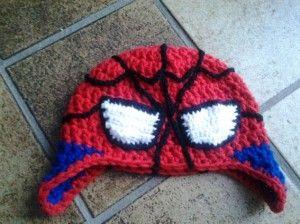 spiderman muts haken