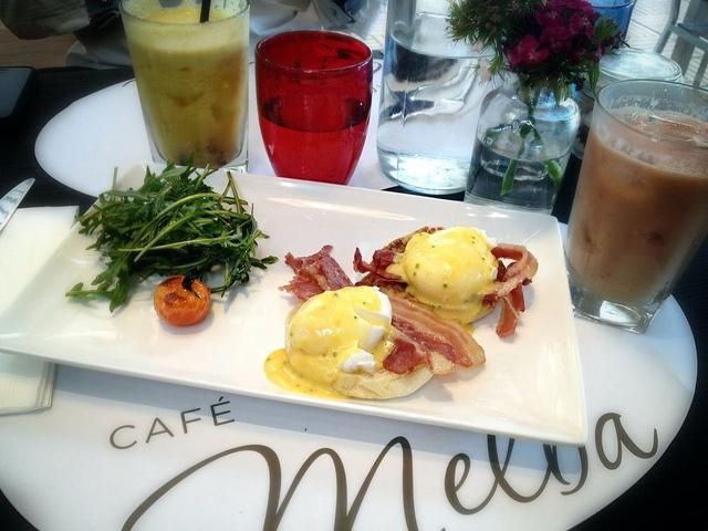 Breakfast at Café Melba