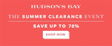 (6/23-7/23) Up to 70% off clearance at TheBay.com