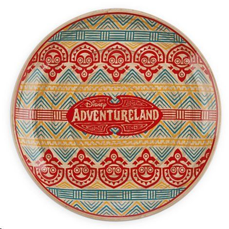 Disneys Adventureland Bamboo Plate Disney