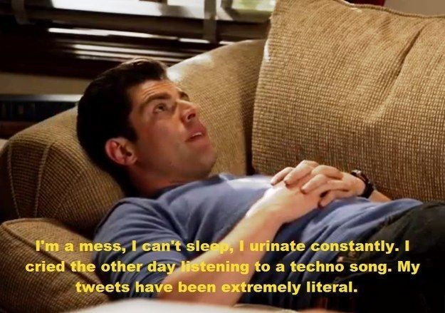 """When Schmidt let it all out. 