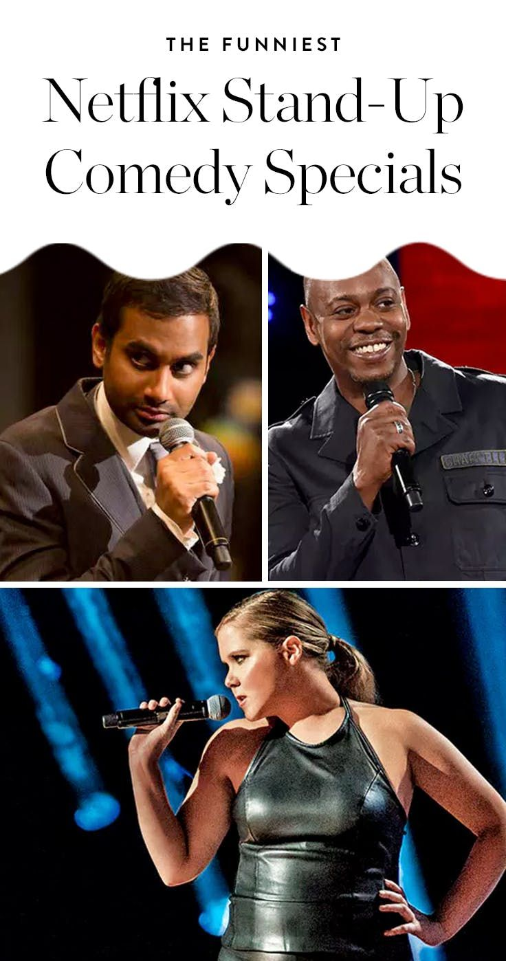 The Funniest Stand-Up Comedy Specials on Netflix Ranked by Raunch Level via @PureWow