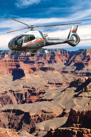 Helicopter tour the Grand Canyon Maverick Helicopters Grand canyon.. www.flymaverick.com This is the helicopter we were on when we got engaged!