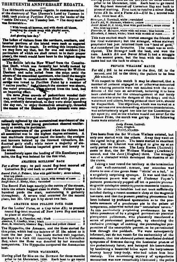 Courier (Hobart, Tas. : 1840 - 1859), Saturday 7 December 1850, page 2