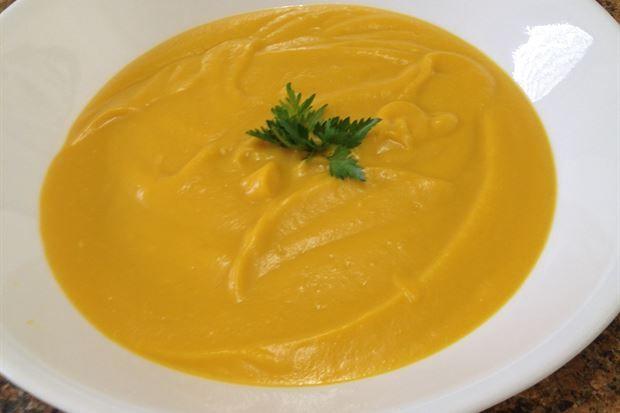 Creamy Pumpkin & Coconut Soup