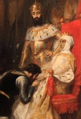 A story of forbidden love that takes place in 14th-century Portugal between Prince Peter I and Ines de Castro. Peter had already been married by his father. Still, this didn't stop him and Ines from carrying on with a torrid love affair. The king ordered Ines's assassination. Later, when Peter became king of Portugal, he asserted that he'd married Ines in secret and posthumously named her Queen Consort of Portugal. Peter had her corpse placed on the throne and made every courtier kiss her…