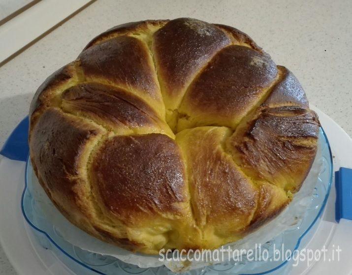 Torta conchiglia o torta brioche
