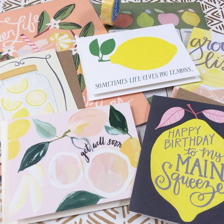 Pucker up! Lots of lemony goodness in the shop right now including favorites from 1canoe2, Rifle Paper Co., @ourheiday, Banquet Workshop, BEVE and Mōglea. | Poppy, Columbia MO