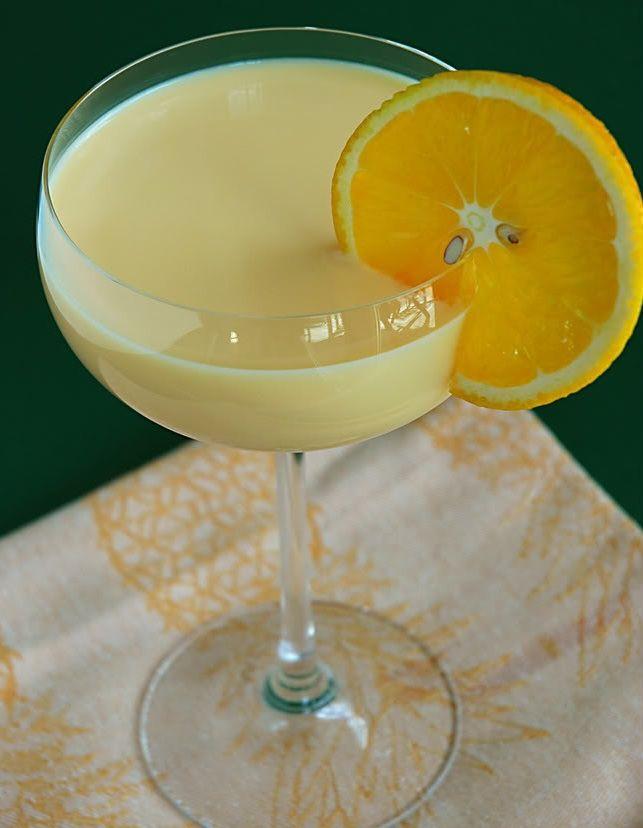 Receta de Batido de naranja