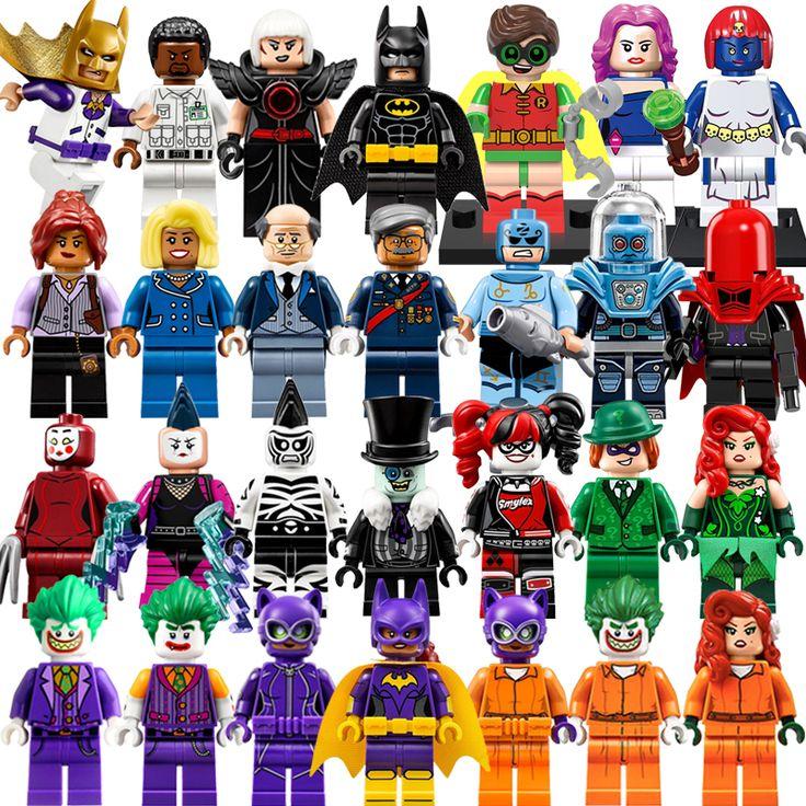 Building Blocks Batgirl Robin Zodiac Master Poison Ivy Joker Starwars Superhero Batman Movie Action Bricks Kids DIY Toys Hobbies