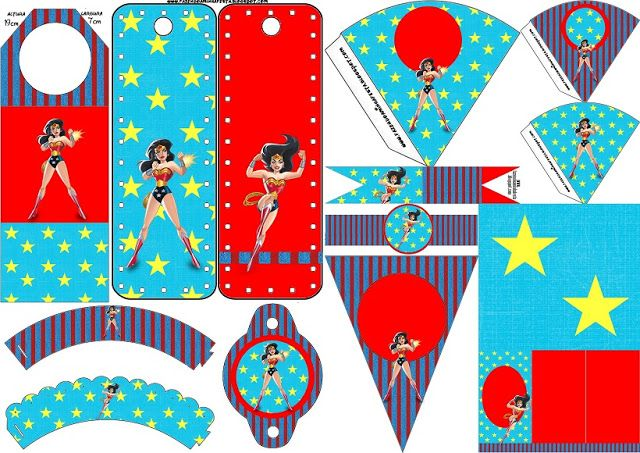 46 best Party Wonder Woman images on Pinterest Wonder woman