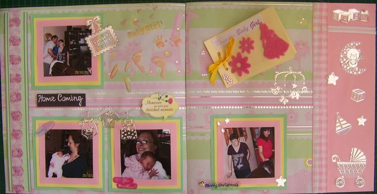 A Pretty Talent Blog: Scrapbooking: Adding a mini album to a page layout