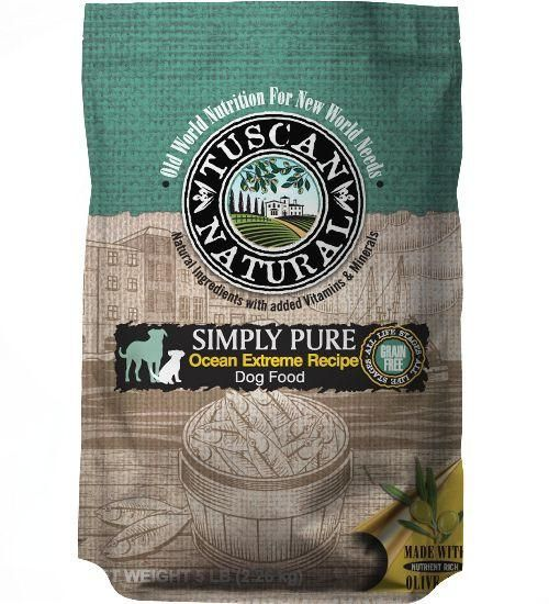 Tuscan Natural Simply Pure Ocean Extreme Recipe Dry Dog Food