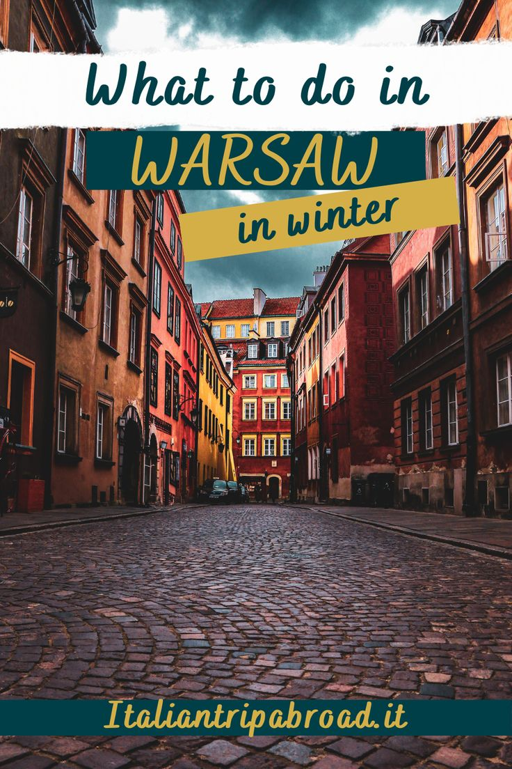 What to do in Warsaw in Winter