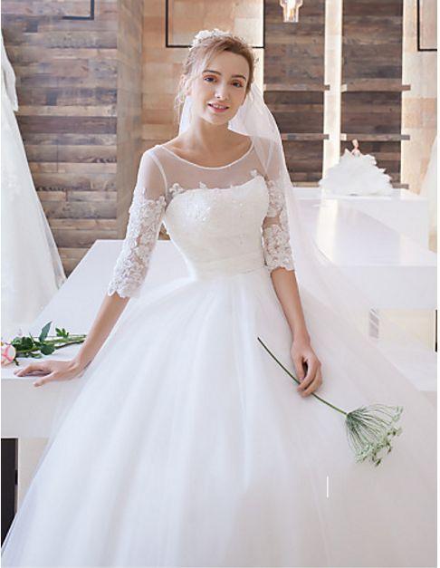 BOHO WEDDING LACE DRESS BOHO BRIDESMAID DRESSES Silhouette A-line Neckline V-nec…
