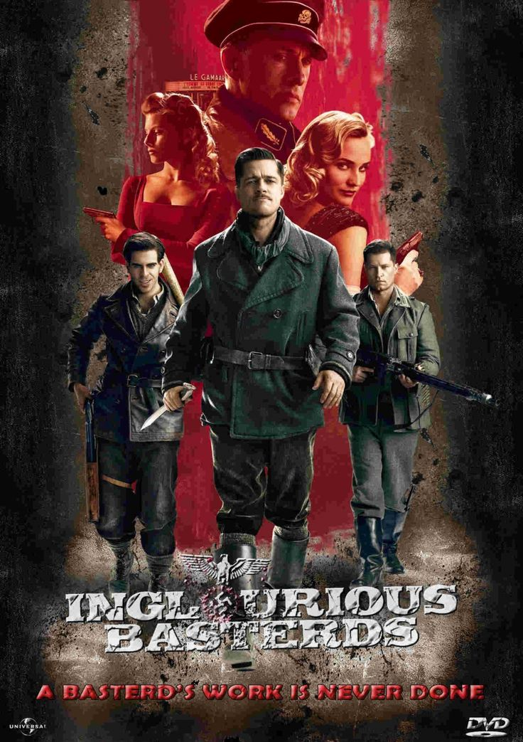 Inglourious Basterds... Again... Tarantino rocks.