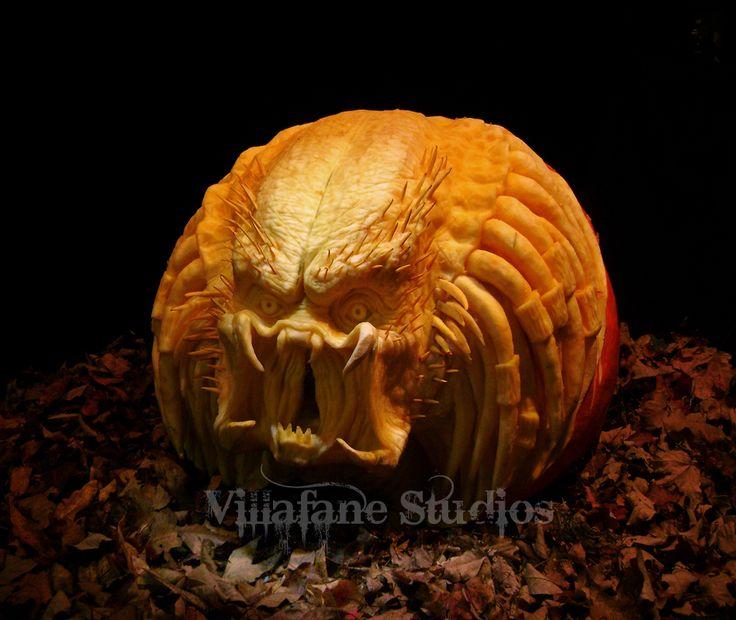 Amazing pumpkin carving.