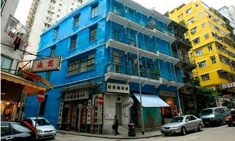 the Blue House – a historic, 1920s-style tenement building named after its stark blue exteriors. Aside from being a well-preserved piece of Hong Kong's architecture, the building also houses the city's first livelihood museum, which aims to promote and preserve the culture and spirit of the Wan Chai neighbourhood. The museum hosts regular events and exhibitions that touch upon various aspects of Hong Kong's history and development. Heritage walking tours are also available by request