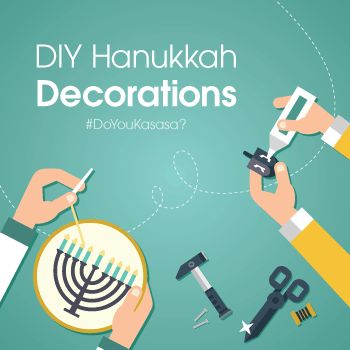 Eight days of gifts means enough spending without buying Hanukkah decorations too. Try out these 8 Hanukkah DIY crafts to save a little extra this year.