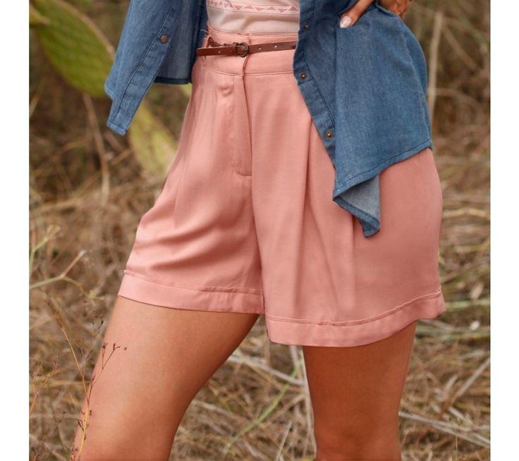 Vzdušné jednofarebné šortky | vypredaj-zlavy.sk #vypredajzlavy #vypredajzlavysk #vypredajzlavy_sk #nohavice #sortky