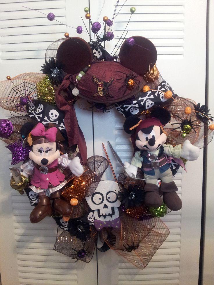 Disney Pirates of the Caribbean Halloween Fall