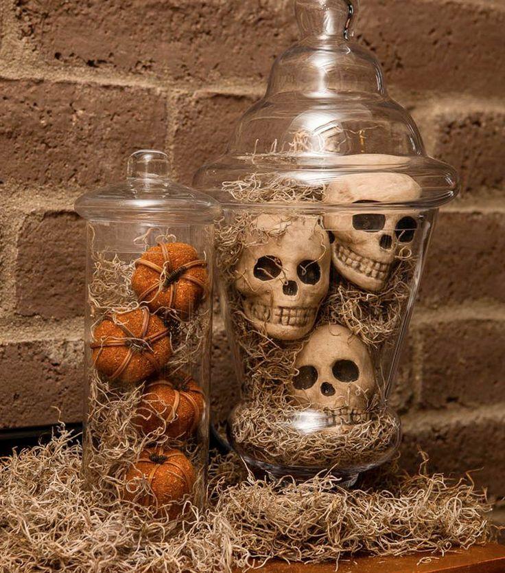 50 Innendekorationen, die Halloween zum nächsten Level bringen