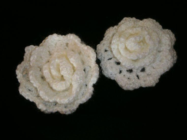 Moederdag prachtige roos haken handleiding