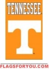 "Tennessee Volunteers Applique Banner Flag 44"" x 28"""