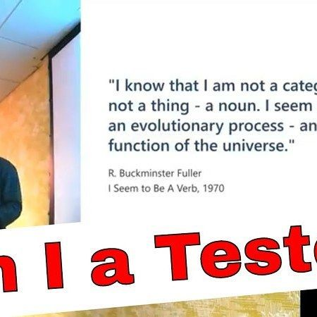 """An excerpt from my Agil Tour London talk http://ift.tt/2FkmZ3a I have also added the full talk to """"Evil Tester Talks"""" bundle http://ift.tt/2D9Nwhy"""