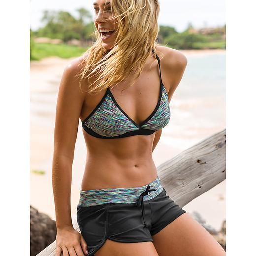 Hanalei Bay Mia Bikini | Athleta- should post this to working out board too for motivation for that flat tummy again!