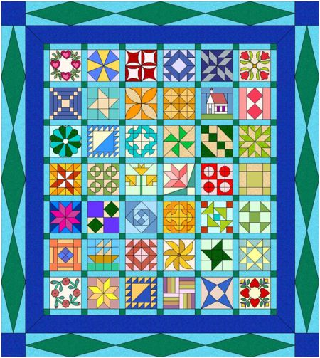 142 best Patchwork blocks images on Pinterest | Patchwork, Quilt ... : how quilts are made - Adamdwight.com