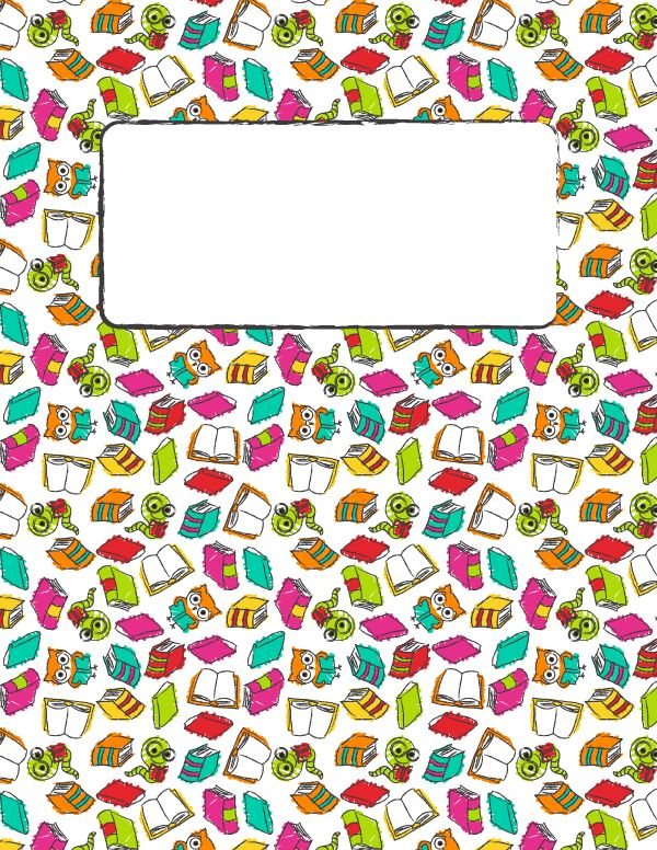 Free printable reading binder cover template. Download the cover in JPG or PDF format at http://bindercovers.net/download/reading-binder-cover/