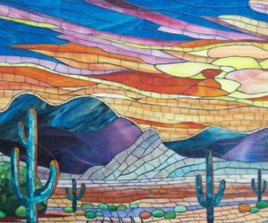 Details: Stained Glass Mosaic by Suzanne Tremblay - Materialicious