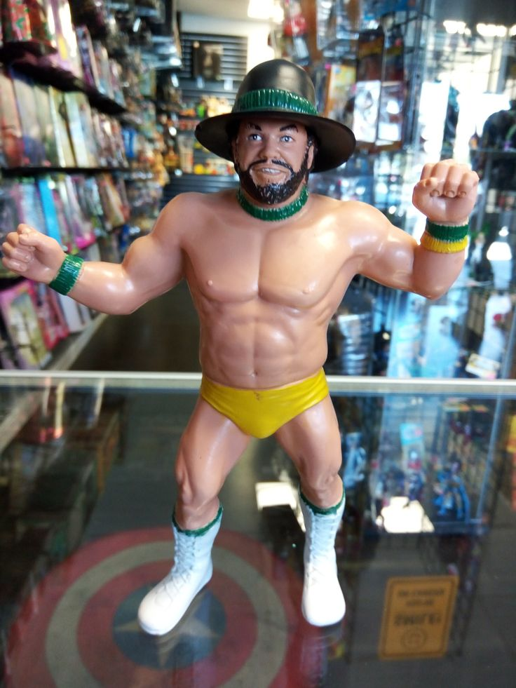 WWF Billy Jack Haynes With Hat LJN Wrestling Superstars 1987