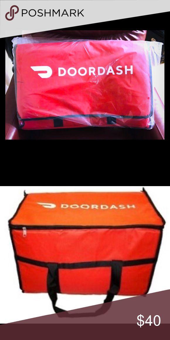 Doordash Door Dash Insulated Food Delivery Bag Delivery Bag Food Delivery Bags