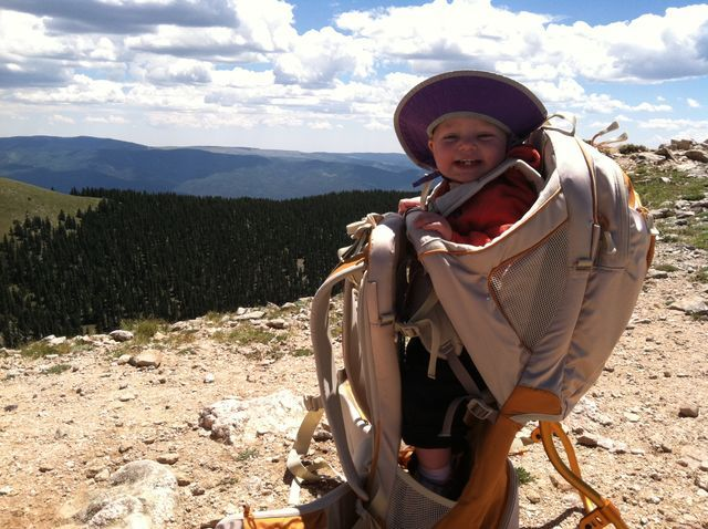 The Best Hiking Carriers for Mountain Kids.  By Outside Magazine.  We will have mountain kids someday!