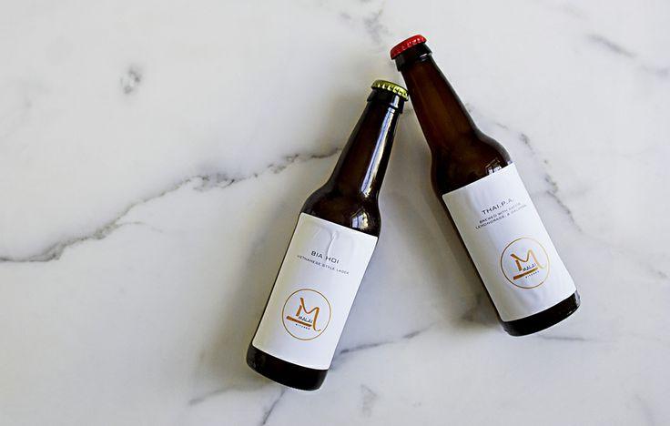 House-brewed beer
