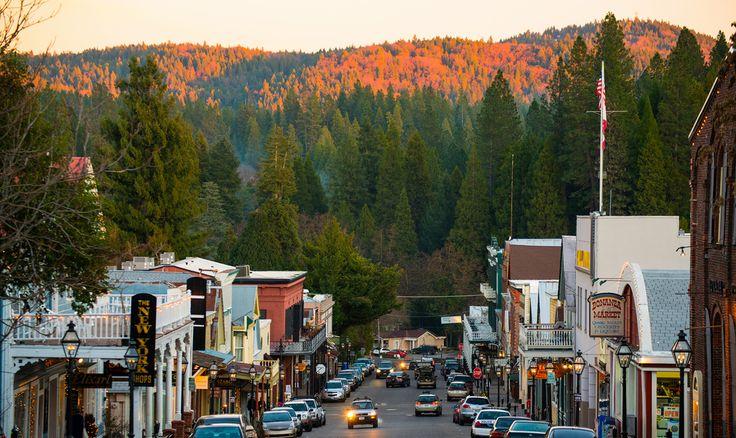 Great Northern California Getaway Spots: Nevada City
