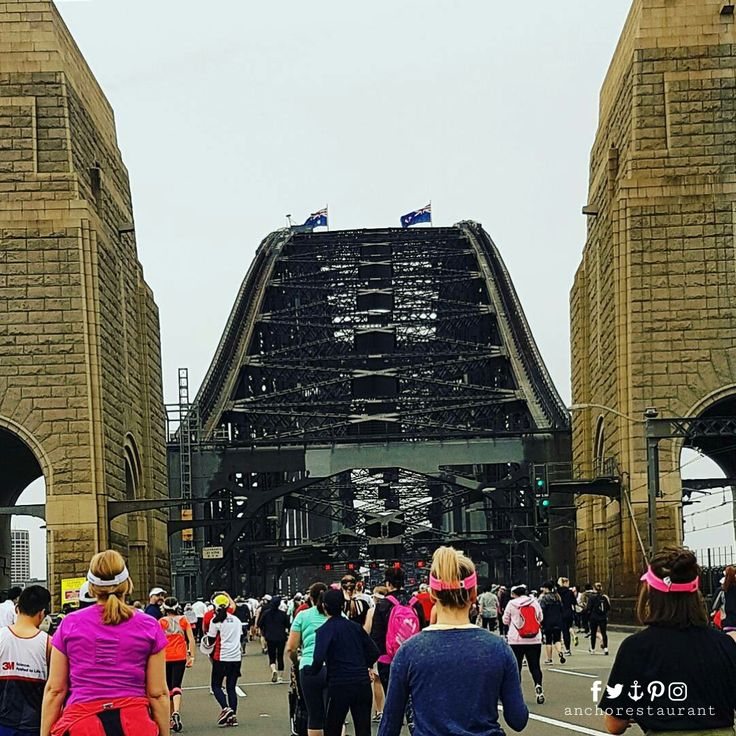 Running on the Sydney Harbour Bridge & Dining right under it! ⚓ ANCHOR Cafe & Restaurant - BOOKINGS: (02) 9922 2996 - Taste the difference!  #blackmoressydneyrunningfestival #blackmoresrunningfestival #sydneyrunningfestival #blackmores #runningfestival #sydneyharbourbridge #sydneyrestaurants #sydneycafes #sydneyrestaurant #sydneycafe #sydneylife #sydneylocal #sydneyeats #sydneydining #sydneypizza #sydneypizzeria #sydneyfood #sydneyfoodie #wineanddine #pizzaandpasta