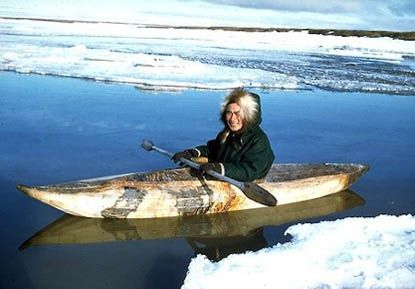 Sealskin Kayak (1980) by Unknown.