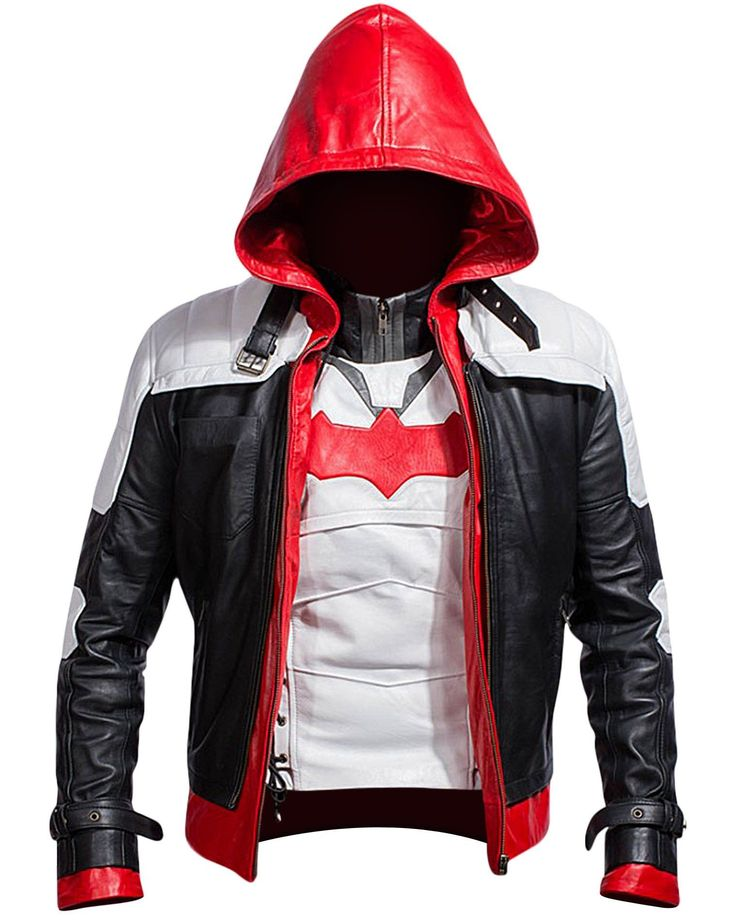 Bat Logo Knight Red Hood Jacket with Vest Arkham Era The Hooded Bat Knight Man Jacket gets a 2 in 1 Style allowing you to carry it both as a Vest and a complete jacket. It is made up of Synthetic leat http://www.99wtf.net/men/mens-fasion/smart-casual-men/