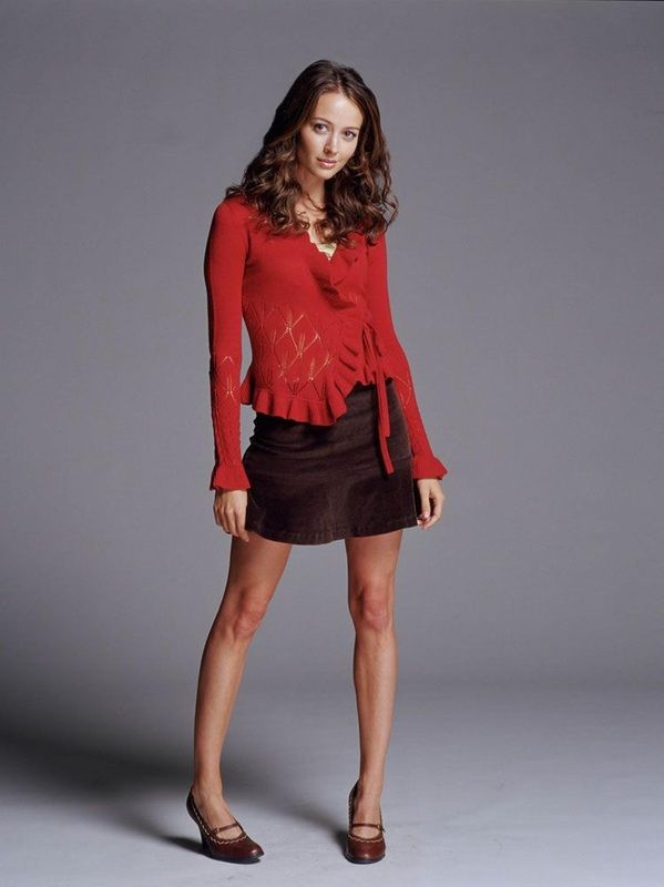 Amy Acker as Winifred 'Fred' Burkle / Illyria: Angel TV series