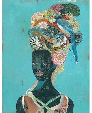 Flowerhead(s) by Olaf Hajek
