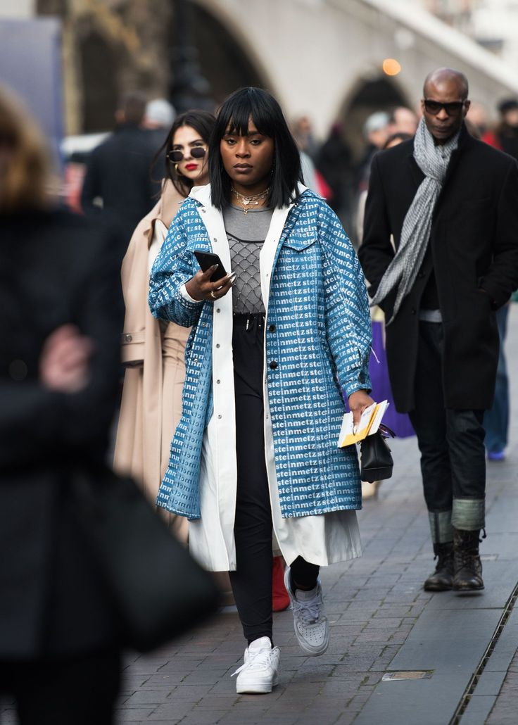 The Best Street Style At London Fashion Week AW18+#refinery29uk
